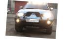 """Бампер передний усиленный """"DDR"""" на пикап Mitsubishi L200 с 2006 до 2013г. выпуска"""
