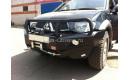 Передний усиленный бампер РИФ для Mitsubishi L200 Triton