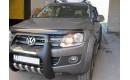 """Полиуретановая защита переднего бампера """"ARP"""" на Volkswagen Amarok"""