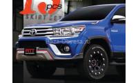 Аэродинамический обвес на Toyota Hilux 2015, 2016, 2017, 2018 года выпуска