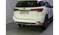 Защита заднего бампера для Toyota Fortuner