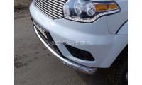 Защита переднего бампера для УАЗ