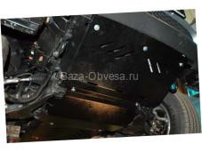 """Защита двигателя """"Шериф"""" на Mitsubishi L200 с 2006 до 2014г. выпуска"""