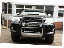 Защита переднего бампера Atlantic для Toyota Hilux