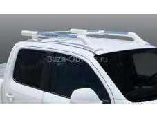 "Алюминиевые рейлинги ""Maxport white/chrome"" для Volkswagen"