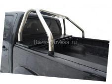 """Алюминиевая крышка кузова Rollback с дугами """"Afcarfiber"""" на Great Wall Wingle 5"""