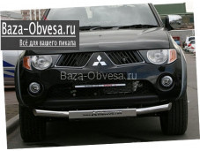 Защита переднего бампера  для Mitsubishi l200