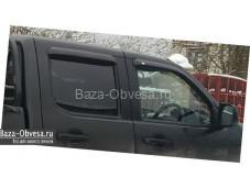 Дефлекторы боковых окон EGR для пикапа Mazda BT50
