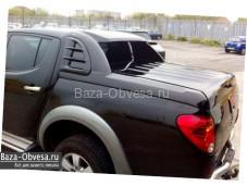"""Крышка Fullbox NEW """"Doga Fiber"""" на Mitsubishi L200 с 2006 до 2013г. выпуска"""
