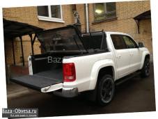 """Алюминиевая крышка кузова """"DiamondBack Truck Covers"""" на Mitsubishi L200 с 2006 до 2013г. выпуска"""