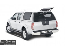 "Кунг RH3 Profi из стекловолокна ""RoadRanger"" на Nissan Navara"