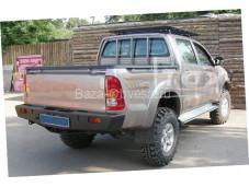 Задний бампер KDT для Toyota Hilux до 2014г. выпуска