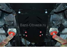 """Защита двигателя """"Шериф"""" на Mitsubishi Pajero Sport II с 2008 до 2016 г. выпуска"""