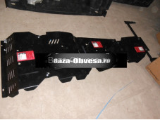 """Защита двигателя """"Шериф"""" на Mitsubishi L200 с 2015г. выпуска"""