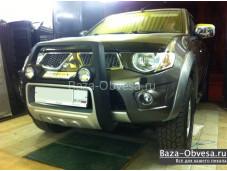 "Защита переднего бампера ""ATLANTIC-2"" для Mitsubishi L200 Triton"