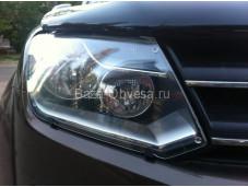 "Защита фар из акрилового стекла ""EGR"" на Volkswagen Amarok"