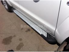 "Пороги AB004 ARTEMIS ""Doga Fiber"" на Volkswagen Amarok"