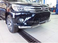 Защита переднего бампера TopUp для Toyota Hilux