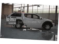 """Кунг S1 Standard из стекловолокна """"Lupotop"""" на Mitsubishi L200 с 2006 до 2013г. выпуска"""