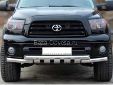 Защита переднего бампера TTU-1.3 для Toyota Tundra