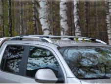 """Багажник аэродинамический (серебро) """"CAN OTOMOTIV"""" на Volkswagen Amarok"""