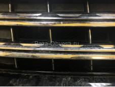 Защитная сетка радиатора черная на Volkswagen Amarok