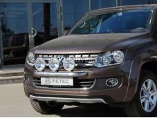 """Нержавеющая дуга для крепления оптики """"METEC"""" на Volkswagen Amarok"""