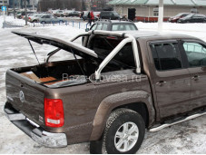 """Защитная дуга в кузов SportBar """"EGR"""" на Volkswagen Amarok"""
