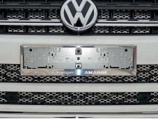 """Рамка номерного знака """"TCC"""" на Volkswagen Amarok"""