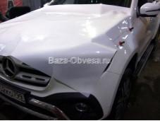Оклейка защитной пленкой Mercedes-Benz X-Class