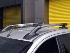 "Рейлинги Maxport Black/Chrome ""ARP"" на Mitsubishi L200 с 2015г. выпуска"