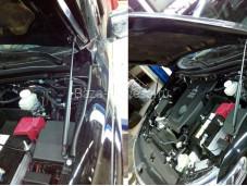"""Амортизатор капота MITL20015-18Y """"TCC"""" на Fiat Fullback с 2015г. выпуска"""