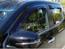 """Дефлекторы боковых окон """"SIM"""" на Mercedes-Benz X-Class"""