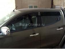 Оригинальные дефлекторы боковых окон на Fiat Fullback с 2015г. выпуска