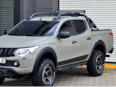 "Рейлинги Maxport Black ""ARP"" на Mitsubishi L200 с 2015г. выпуска"
