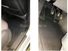 Коврики салона резиновые для Mitsubishi L200 с 2015г. выпуска