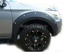 """Расширители колёсных арок OFF-ROAD """"Таиланд"""" на Fiat Fullback"""