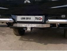 """Прицепное устройство TCU00012 """"TCC"""" на Mitsubishi L200 с 2015г. выпуска"""