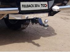 """Прицепное устройство TCU00092 """"TCC"""" на Fiat Fullback"""