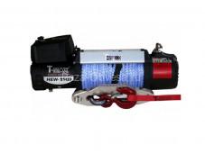 """Лебедка HEW-9500 X-Power с синтетическим тросом """"T-MAX"""" на УАЗ"""