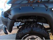 Расширители колёсных арок с накладками на УАЗ