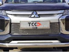"""Решётка радиатора MITL20019-03 """"TCC"""" на Mitsubishi L200 с 2019г. выпуска"""