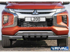 Защита переднего бампера R.4016.003 для Mitsubishi L200 с 2019г. выпуск