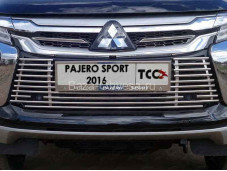 Решетка радиатора MITPASPOR16-29 на Pajero Sport III с 2015г. выпуска