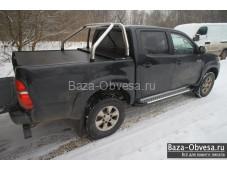 """Защитная дуга 60мм. в кузов """"Afcarfiber"""" на Volkswagen Amarok"""