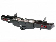 """Бампер задний усиленный с оптикой и лебедкой """"DDR"""" на Mitsubishi L200 с 2015г. выпуска"""