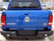 "Бампер задний усиленный ""RIVAL"" на Volkswagen Amarok"