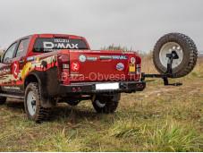 """Бампер задний с оптикой и калиткой """"DDR"""" на ISUZU D-MAX"""