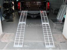 Алюминиевые сходни для квадроцикла на Dodge Ram
