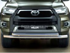 Защита бампера TH20_1.1 для Toyota Hilux с 2015г. выпуска